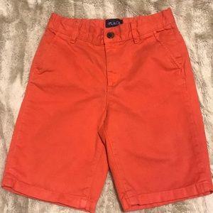 Boys Orange shorts